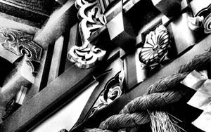 日枝神社の扁額