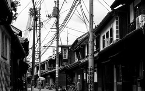 倉敷の古い町並み