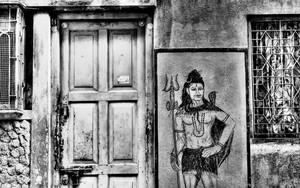 Shiva Next To The Door