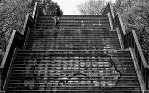 Graffiti On The Stair