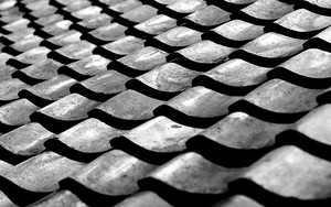 Roof Of Tiles In Tokoname