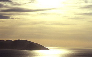 イオスの夕陽