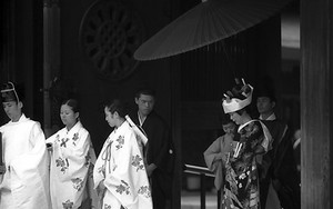Wedding In Meiji Jingu