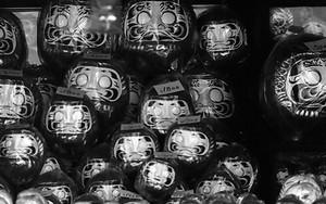 Many Daruma Dolls
