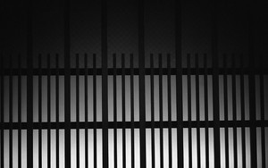 Silhouette Of Window Lattice