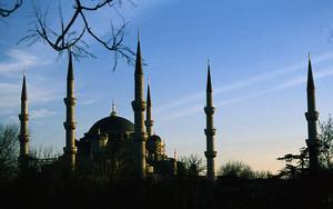 イスタンブールのブルー・モスク