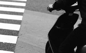 ライダーと横断歩道