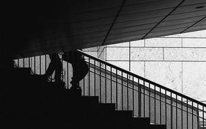 Legs On The Stairway