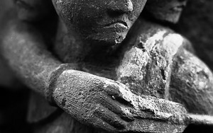 摩利支天の石像