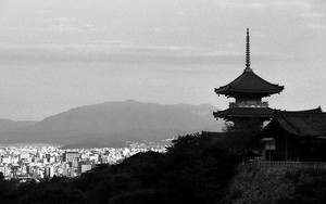 Three-storied Pagoda And The City