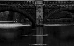 皇居の正門石橋