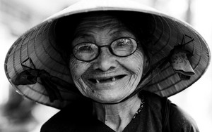 Cute Smile Of An Older Woman
