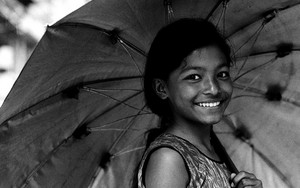 Umbrella And Smile