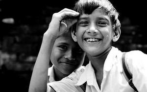 Cheerful School Boys