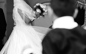 花嫁と少年
