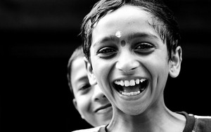 Laughing Boy With A Bindi