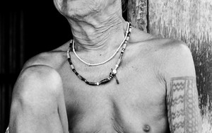 Old Woman With Tattoo