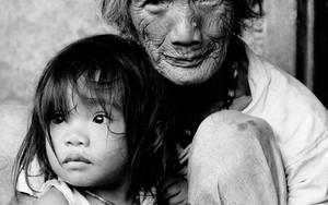 山岳部族の老婆