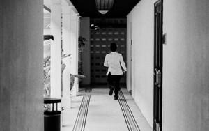 Corridor Of A Hotel