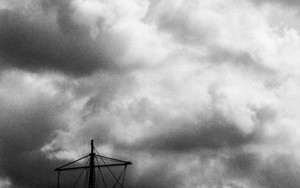 Sailboat Under The Cloud