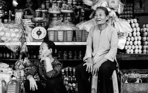 Two Older Women In The Storefront