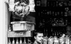 Man Beside Bottles Of Cola