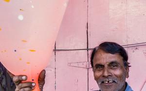 Balloon And Man