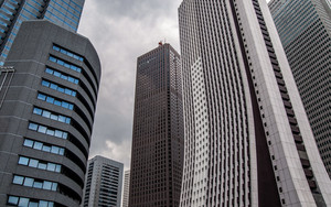 Skyscrapers In West Shinjuku