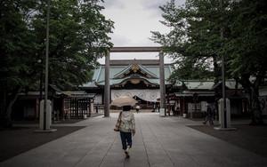 靖国神社の日傘