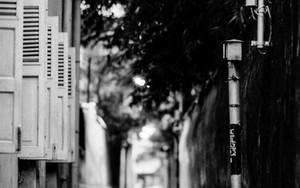 Deserted Narrow Street