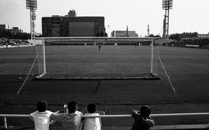 サッカー場の記憶