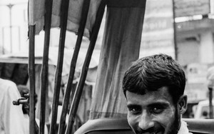Smile Of A Bearded Rickshaw Wallah