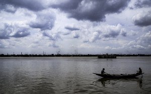 Boat On The Hooghly River