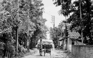 Tricycle On The Unpaved Road