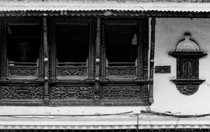 寺院のマニ車