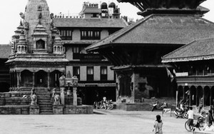 Three In The Durbar Square
