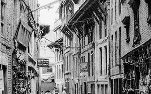 Narrow Street Of Bhaktapur