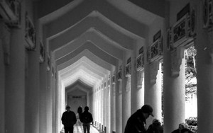 Cloister In Chiang Kai-Shek Memorial Hall