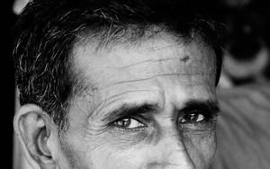 Eyes Of Relaxing Man