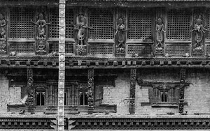 Facade Of Bagh Bhairab Temple