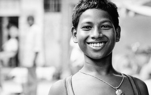男の子の爽やかな笑顔