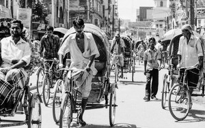Clouds Of Cycle Rickshaw