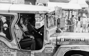 Front Seat Of A Jeepney