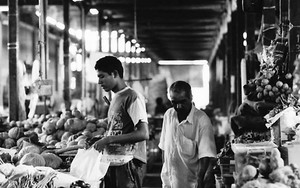 Man Buying At A Market