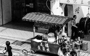 豆乳の屋台