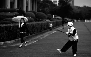 Sword Versus Umbrella