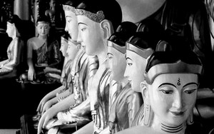 Buddha Statues Were Sitting
