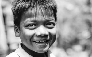 Blithesome Boy Smiles