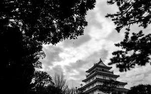 島原城の天守閣