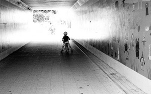 Little Boy In The Tunnel
